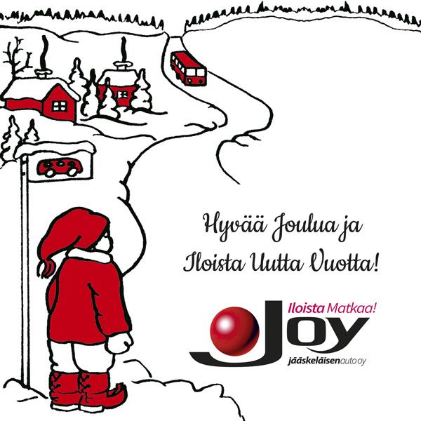 Hyvää Joulua Ja Iloista Uutta Vuotta